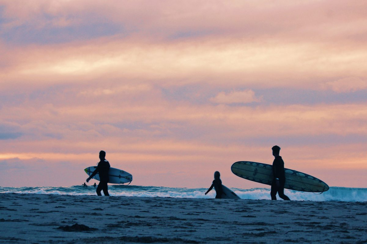 Beaches & Surfing
