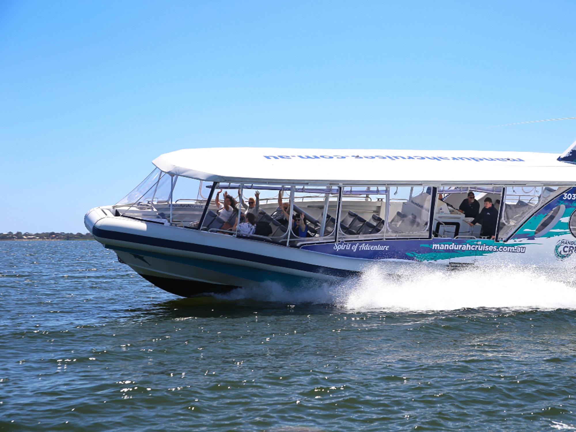 Adrenaline fuelled fun with Mandurah Cruises