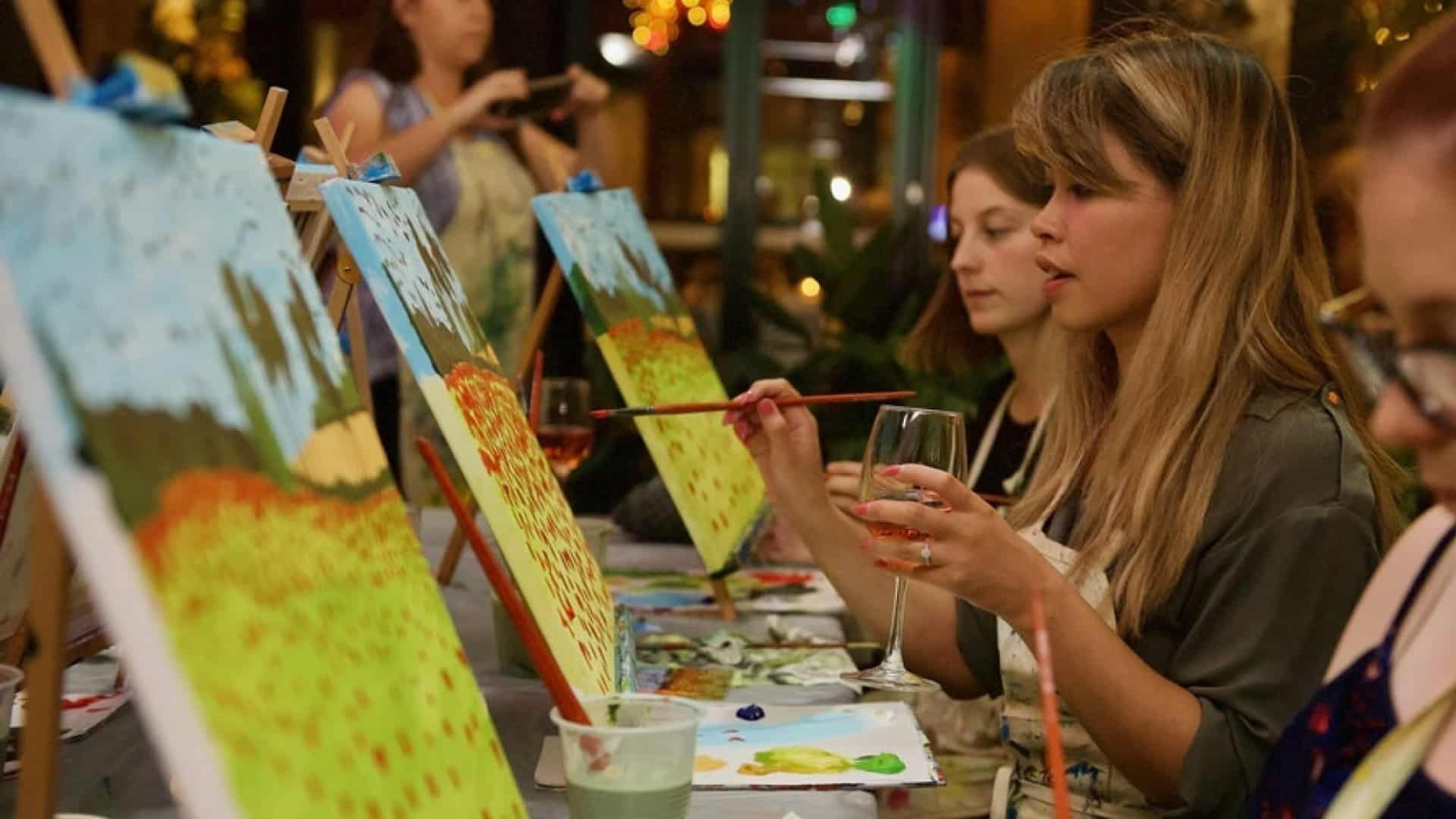 Paint and Sip classes