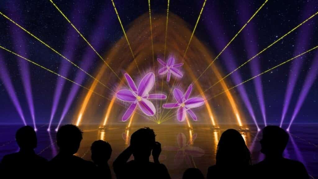 Mandurah Alive! Water and Laser Show