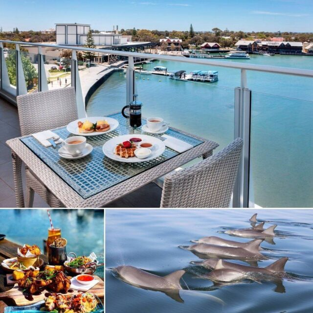 Need a relaxing getaway? Come and unwind with our amazing #Mandurah package deal -  A Taste of Mandurah with @sebelmandurah, @mandurahcruises and @catch22mandurahwa. For more details visit www.visitmandurah.com/mandurah-weekend-package.#visitmandurah #seeperth #thisiswa #westernaustralia #wonderoutyonder #helloperth #perthisok #soperth #weekend #weekendaway #packagedeal