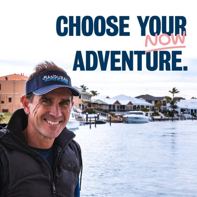 Choose your NOW adventure in Mandurah!Click the link below to experience augmented reality with Justin Langer and 360-degree views of Mandurah. More importantly, invite him into your home and take a selfie.Also, don't forget to enter our competition for your chance to win a weekend away for the whole family!Link in bio!#visitmandurah #mandurah #wanderoutyonder #seePerth #thisisWA #JustinLanger #perthisok #augmentedreality