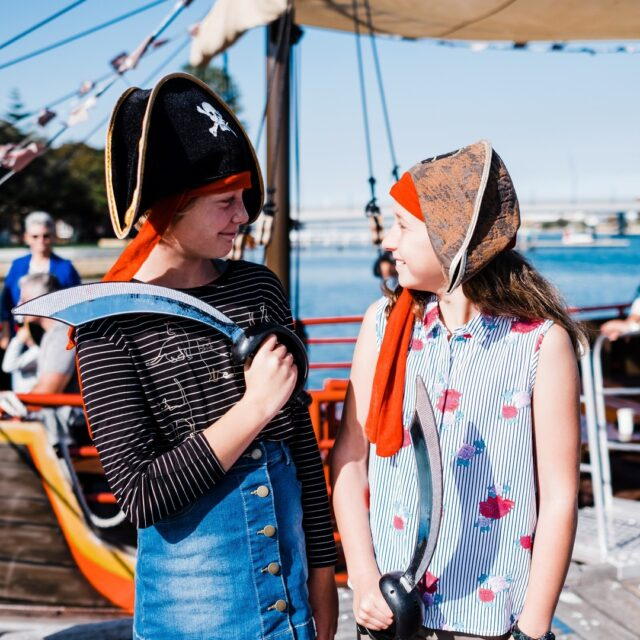Ready for your pirate adventure in #Mandurah? Jump on board the @pirateshipmandurah this weekend.#visitmandurah #thisisWA #westernaustralia #wonderoutyonder #perthisok #helloperth #seeperth