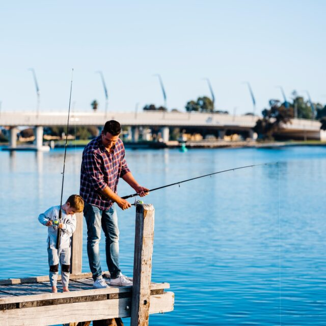 Happy Father's Day! Tell us how you will spend your day with Dad today.#Mandurah #visitmandurah #seePerth #thisisWA #wanderoutyonder #adventureawaits #soperth #perthisok #perthisok #fishing #fathersday