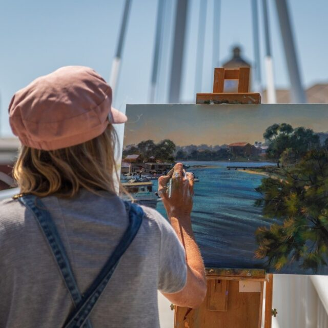 The countdown is on! Come and paint or come and watch our artists being inspired by #Mandurah's beauty. @pleinairdownunder, Mandurah's largest outdoor painting festival is on from 26th September - 28th September.#visitmandurah #seePerth #westernaustralia #wanderoutyonder #thisisWA #art #artist #outdoorpainting #helloperth #soperth #perthisok